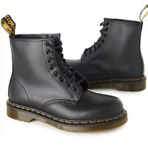 Doc Marten's 8-eye Matte Black Classic Boots